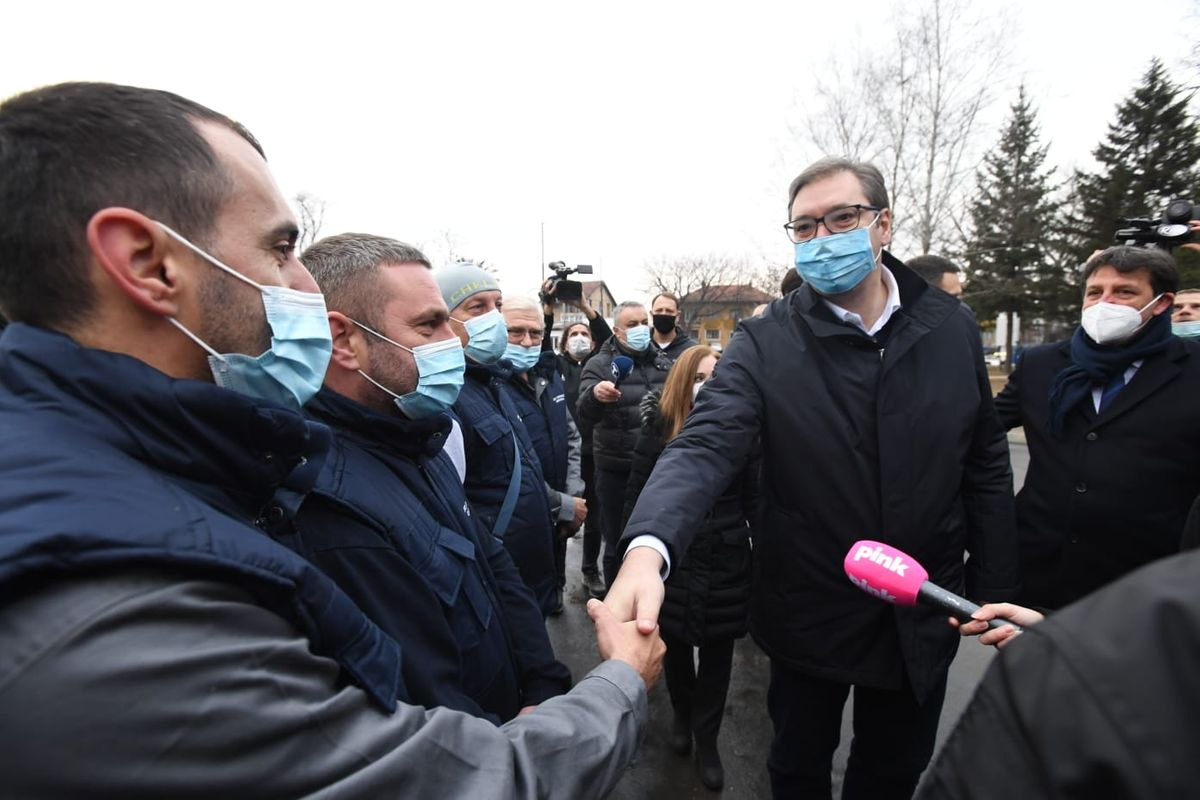 Отварање нове ковид болнице у Крушевцу