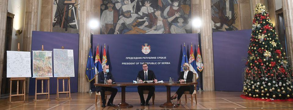 Новогодишња конференција за медије председника Републике Србије