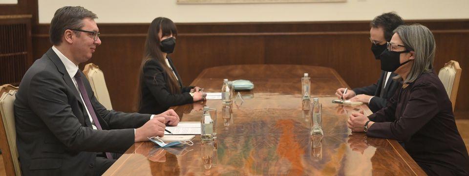 Sastanak sa ambasadorkom Republike Portugalije