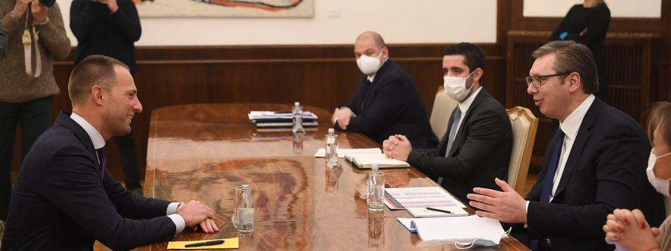 Састанак са директором сталног Секретаријата Транспортне заједнице