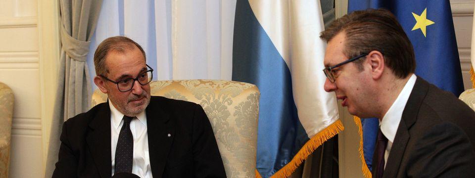 Опроштајна посета амбасадора Републике Аргентине
