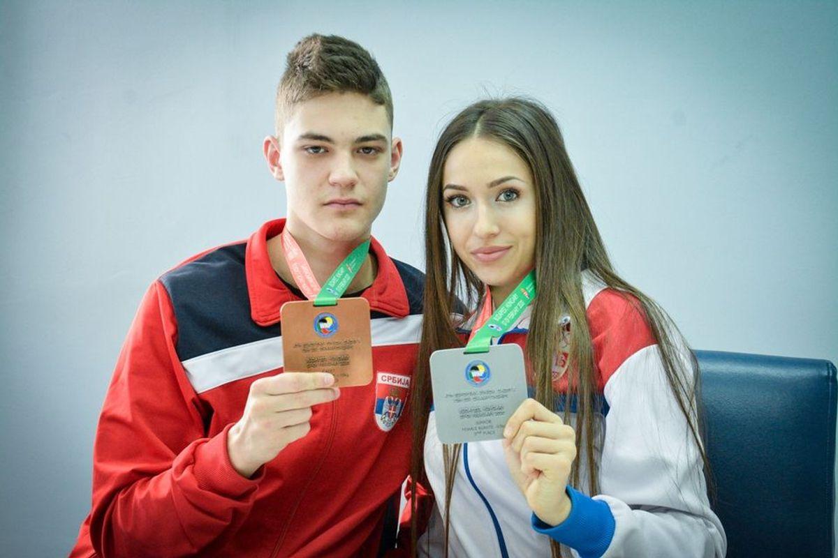Вицешампионка Европе и репрезентативка у каратеу