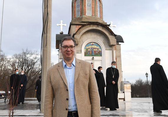 Посета цркви Светих новомученика крагујевачких