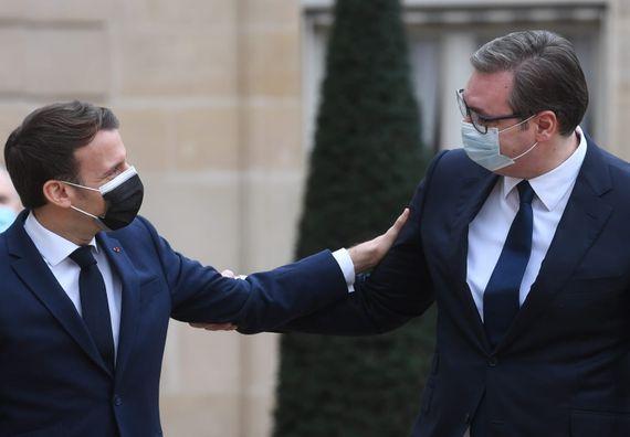 Председник Вучић у посети Француској