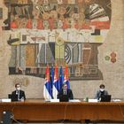 Predsednik Vučić prisustvovao sednici Vlade Republike Srbije