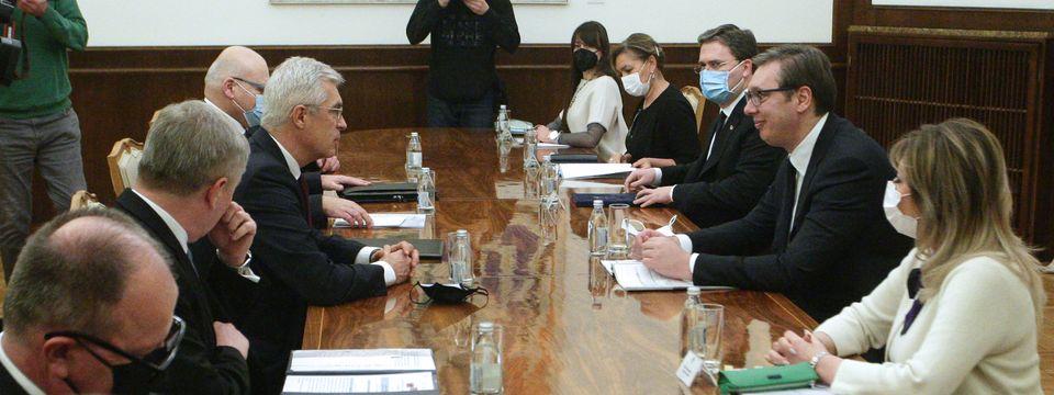 Састанак са министром спољних послова Словачке Републике