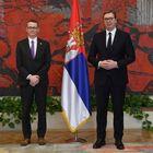 Председник Вучић примио је акредитивна писма новоименованог амбасадора Канаде