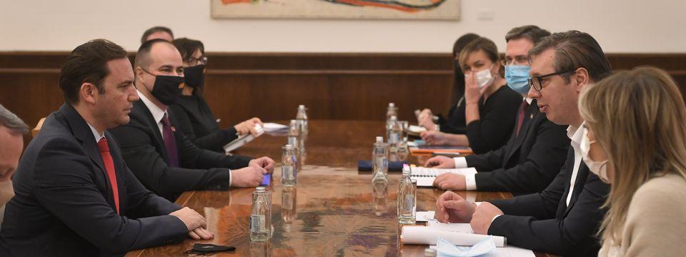 Састанак са министром спољних послова Републике Северне Македоније