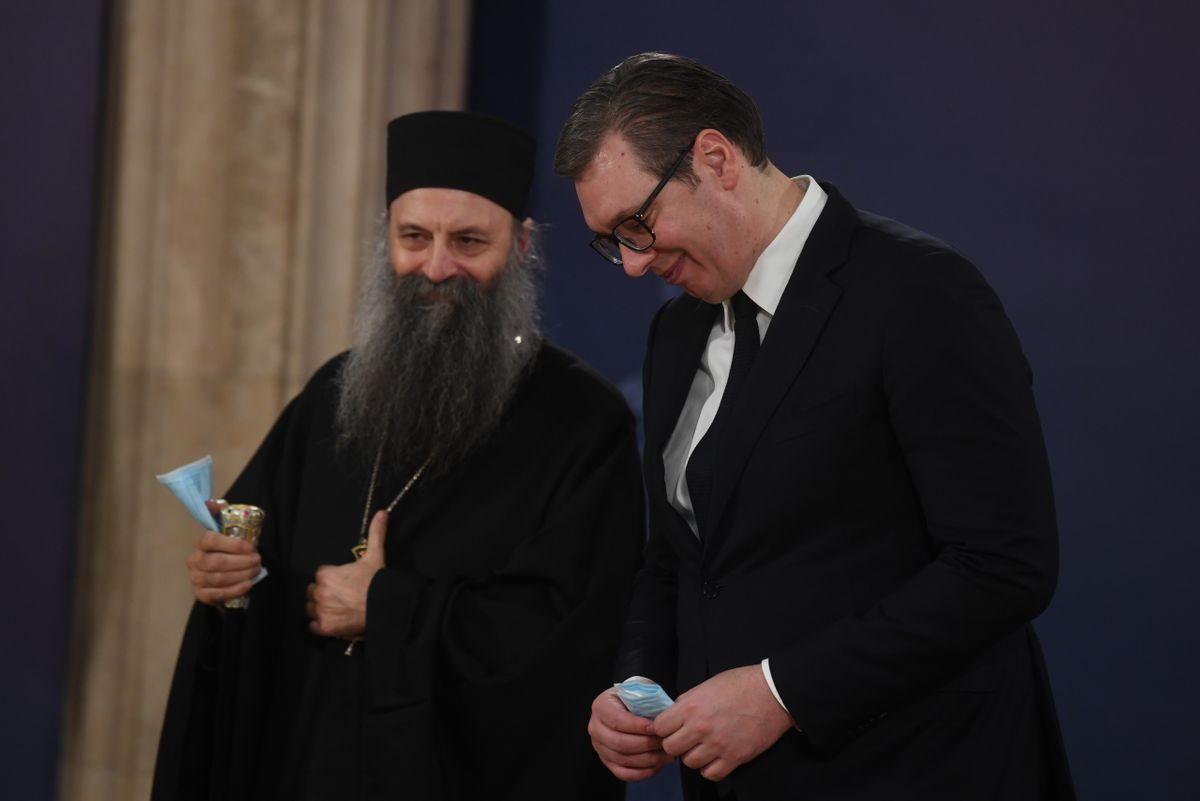 Sastanak sa Njegovom svetošću patrijarhom srpskim g. Porfirijem