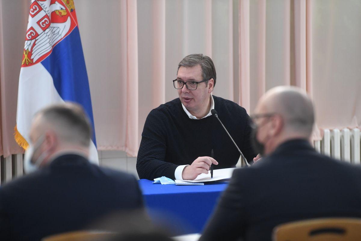 Састанак са политичким и институционалним представницима Срба са Косова и Метохије