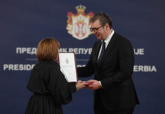 Председник Вучић уручио одликовања поводом Дана државности Републике Србије II