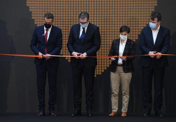 Svečano otvaranje fabrike kompanije Continental Automotiv Srbija
