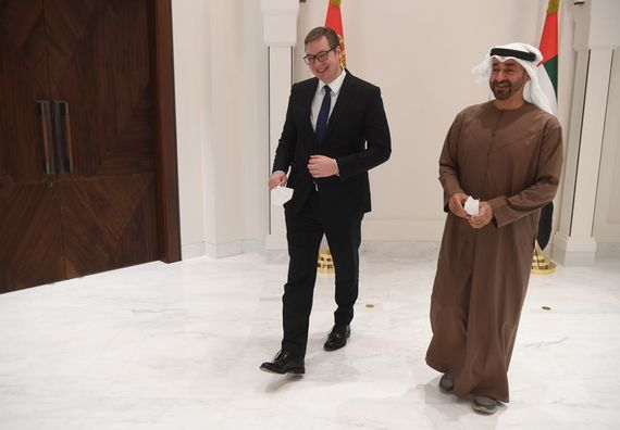 Predsednik Vučić u radnoj poseti Ujedinjenim Arapskim Emiratima