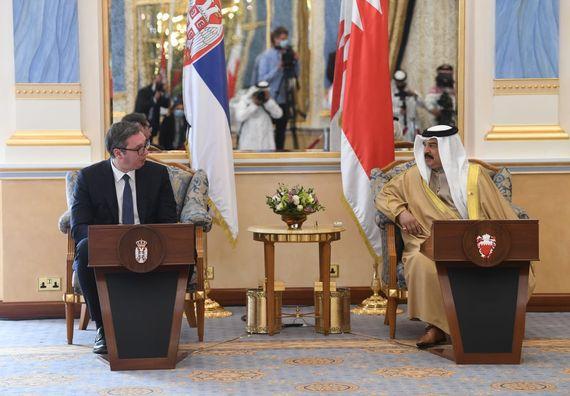 Predsednik Vučić u poseti Kraljevini Bahrein