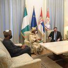 Опроштајна посета амбасадорке Савезне Републике Нигерије