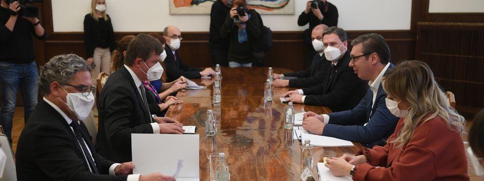 Састанак са министром спољних послова Чешке Републике