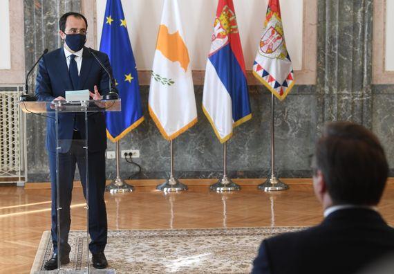 Састанак са министром спољних послова Републике Кипар