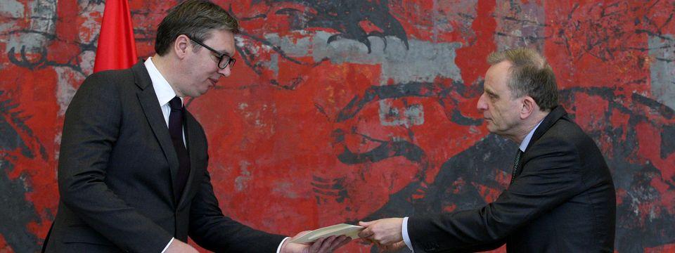 Akreditivna pisma novoimenovanog ambasadora Kraljevine Holandije