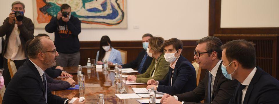 Sastanak sa Šefom delegacije Evropske unije u Srbiji