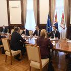 Састанак са Шефом делегације Европске уније у Србији