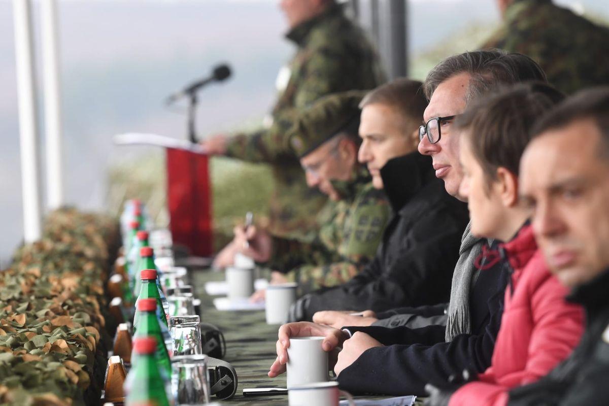 "Združena taktička vežba sa bojevim gađanjem ""ODGOVOR 2021"""