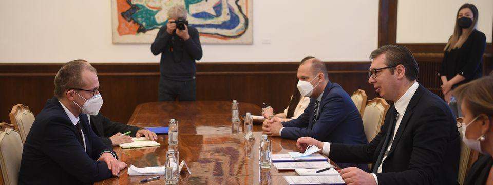 Састанак са регионалним директором Светске здравствене организације за Европу