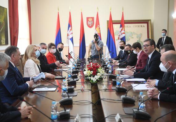 Председник Вучић у посети Бањалуци