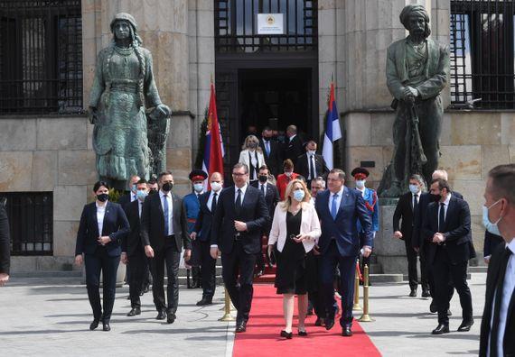 Predsednik Vučić u poseti Banjaluci