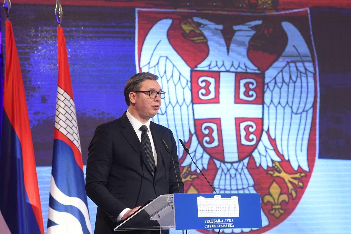 Predsedniku Vučiću uručen ključ Grada Banjaluke sa Poveljom počasnog građanina Banjaluke