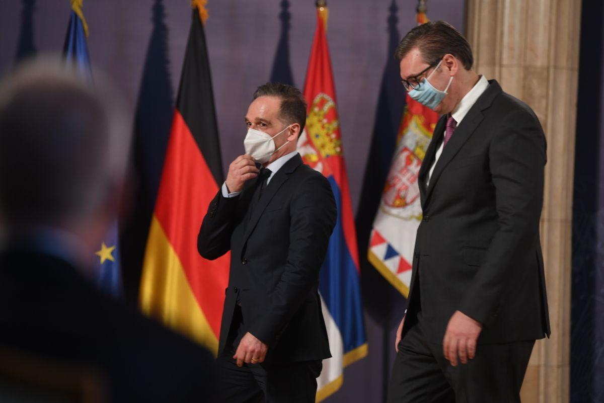 Састанак са министром спољних послова Савезне Републике Немачке