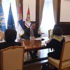 Састанак са регионалном директорком УНИЦЕФ-а за Европу и Централну Азију