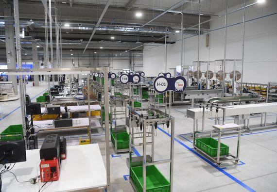 Званично отварање фабрике