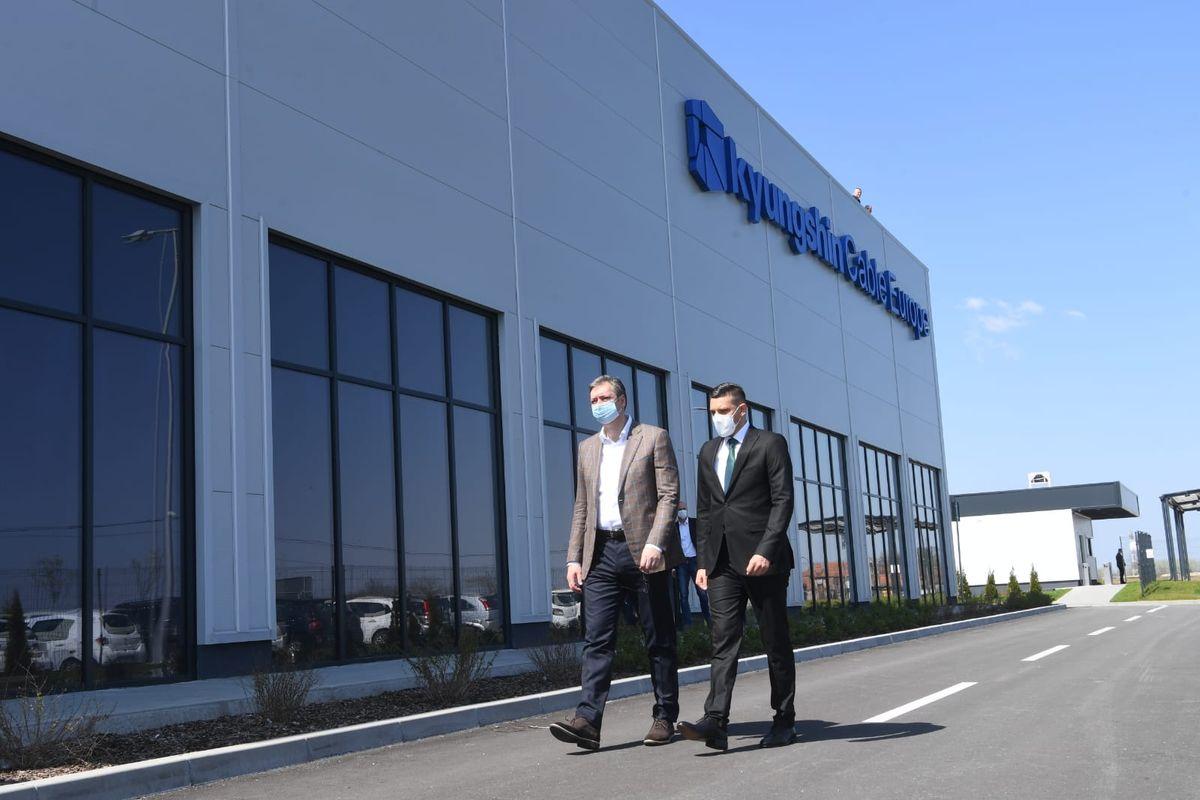 Zvanično otvaranje fabrike