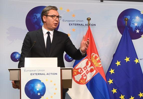 Састанак са високим представником ЕУ за спољне послове и безбедносну политику