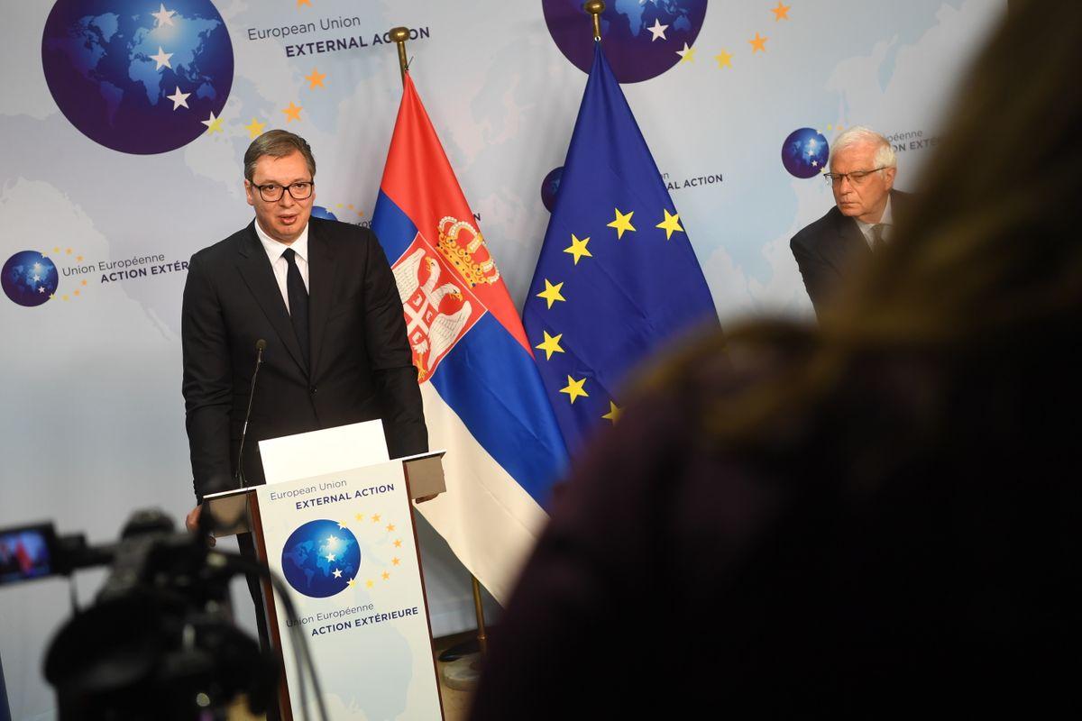 Sastanak sa visokim predstavnikom EU za spoljne poslove i bezbednosnu politiku