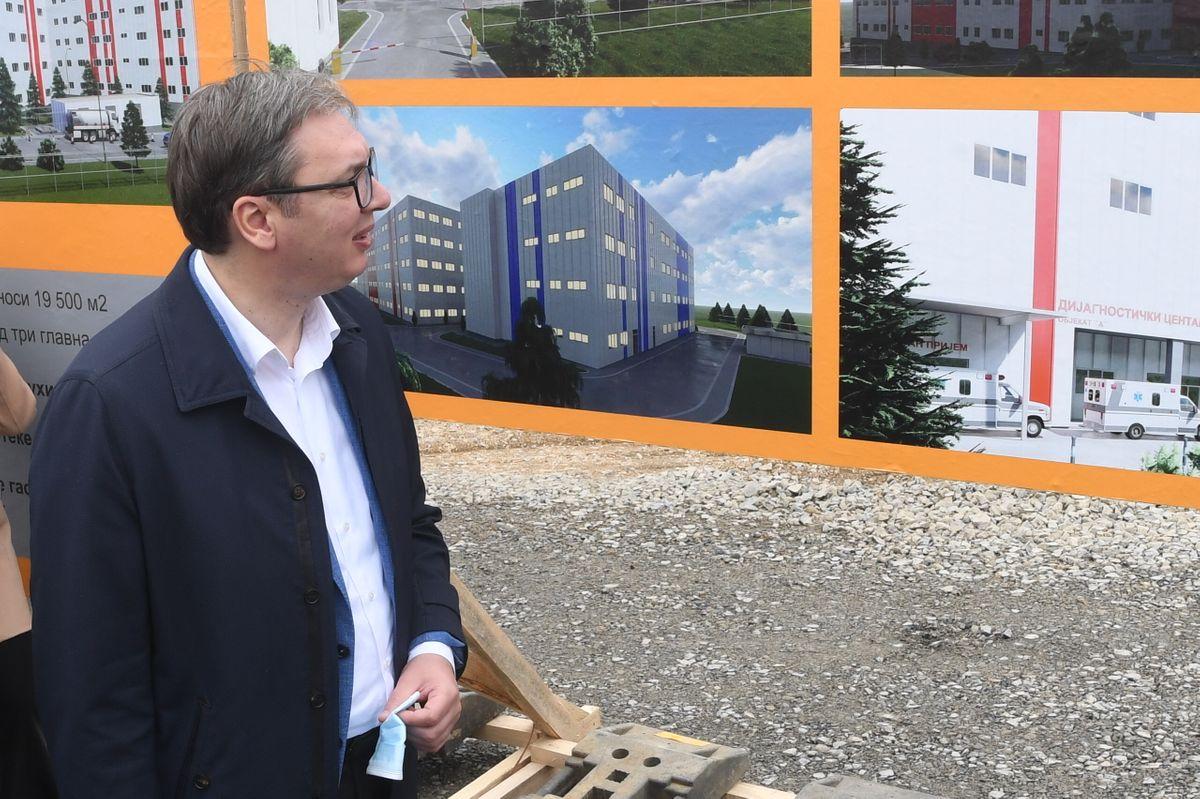 Početak izgradnje nove kovid bolnice u Novom Sadu