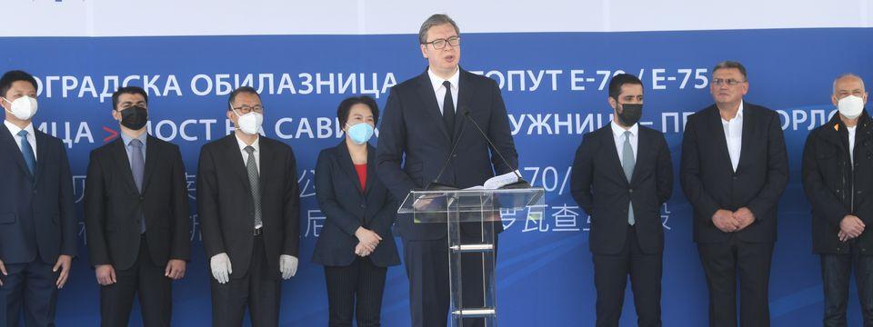 Predsednik Vučić otvorio Sektor 4 obilaznice oko Beograda