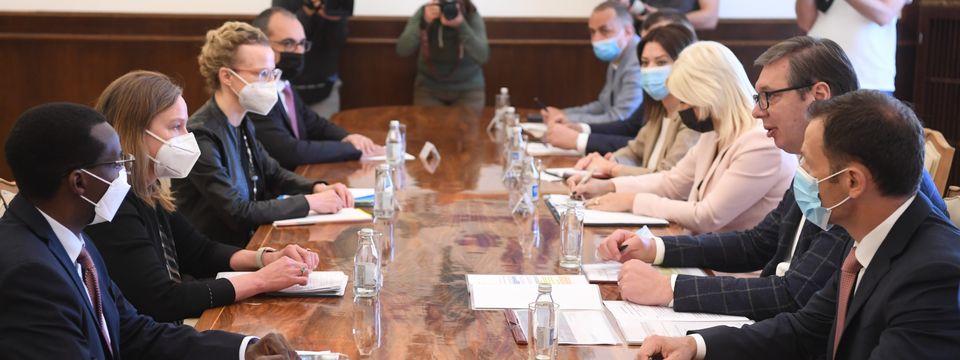Састанак са регионалном директорком Светске банке