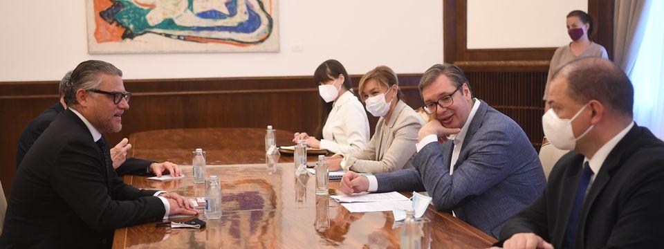Састанак са амбасадором Републике Чешке