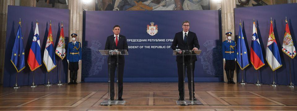 Посета председника Републике Словеније