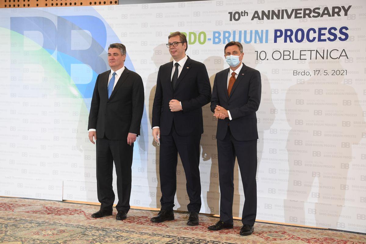Predsednik Republike Srbije Aleksandar Vučić boravio je u Republici Sloveniji, gde je učestvovao na sastanku lidera Brdo – Brioni procesa.