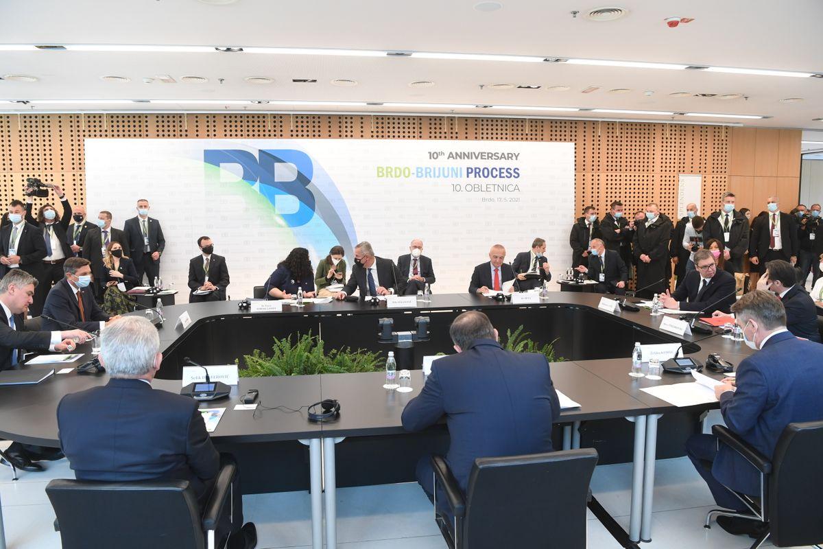 Sastanak sa liderima Zapadnog Balkana  u okviru procesa Brdo-Brioni