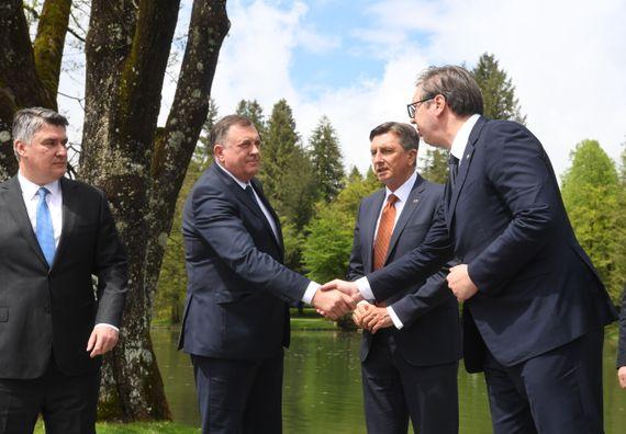 Састанак са лидерима Западног Балкана  у оквиру процеса Брдо-Бриони