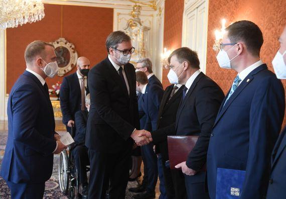 Председник Вучић у званичној посети Чешкој Републици