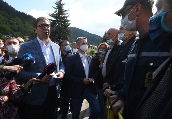 Predsednik Vučić posetio Prijepolje i Priboj