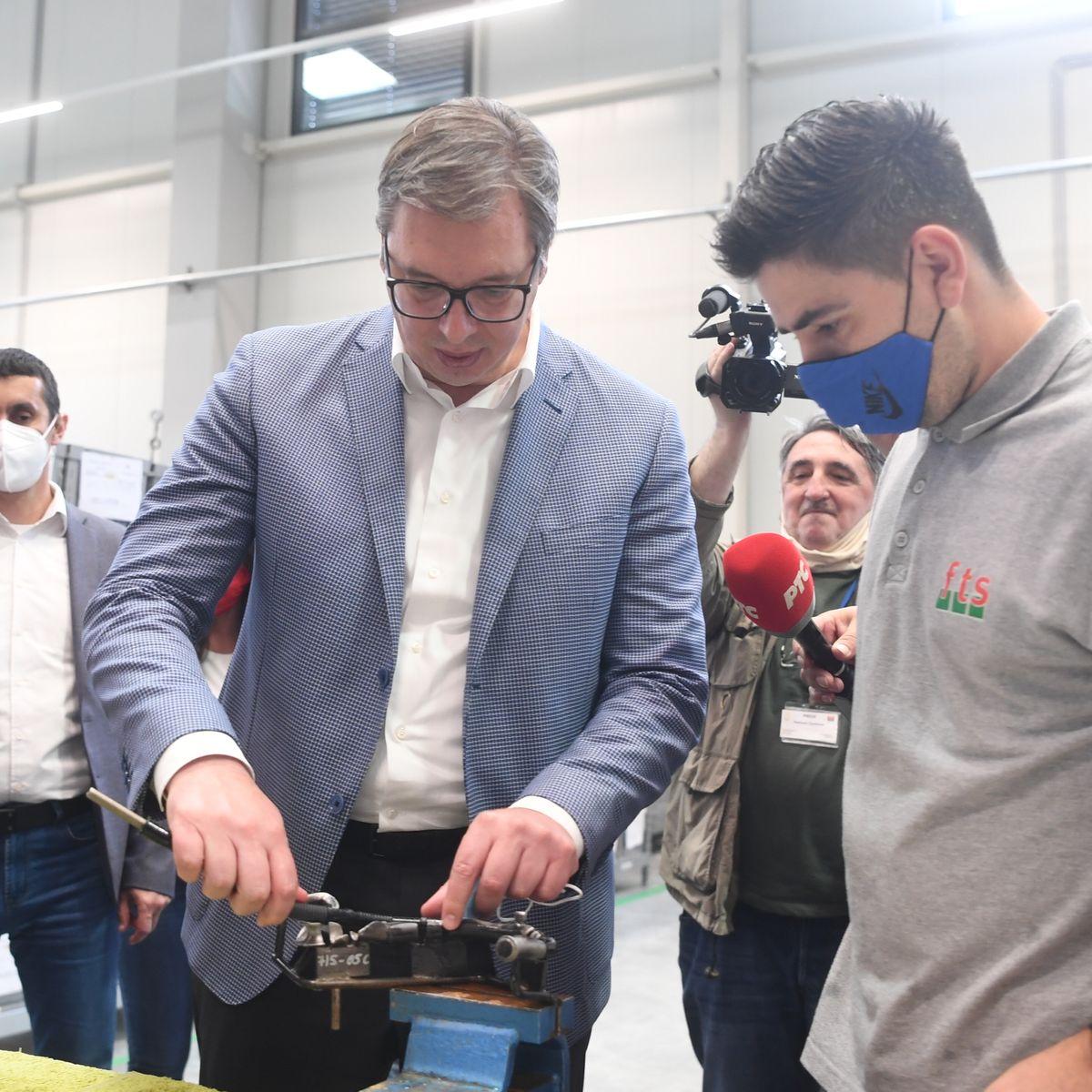 Председник Вучић посетио Пријепоље и Прибој