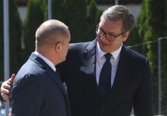 Председник Вучић састао са председником Републике Бугарске