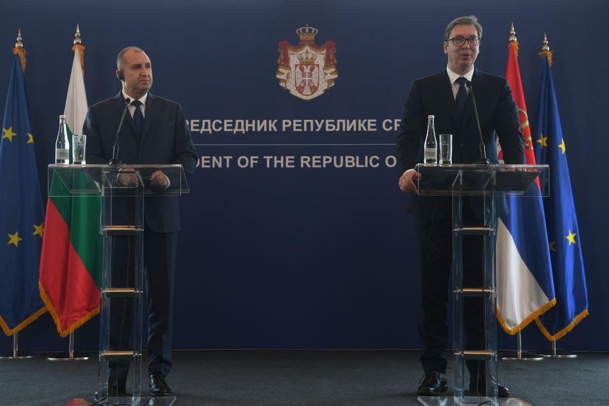 Радна посета предедника Републике Бугарске