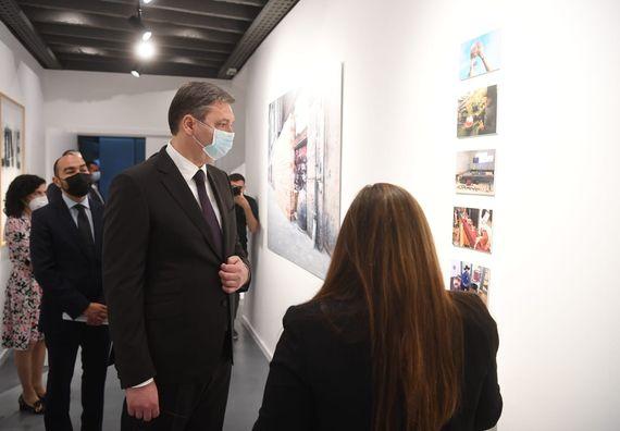 Predsednik Vučić prisustvovao otvaranju Evropskog romskog instituta za umetnost i kulturu i Romskog obrazovnog fonda