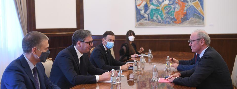 Састанак са амбасадором Републике Француске
